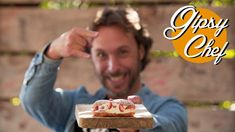 La receta de éclairs de fresa más irresistible de Gipsy Chef Eclairs, Triple Seco, Churros, Nom Nom, Cereal, Breakfast, Sweet, Desserts, Bandanas
