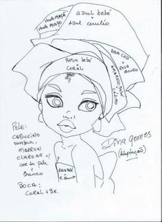 Resultado de imagem para meninas pintadas em bolsas, ecobags pinterest