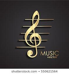 Music Backgrounds, Black Backgrounds, Black Background Wallpaper, Golden Life, Music Symbols, Logo Design, Graphic Design, Music Images, Borders And Frames