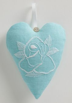 Learn all about freehand embroidery and how to stitch this gorgeous heart design with Zoe Patching in our 205 issue. Get this issue from as a digital mag from www.bit.ly/AppleCSCollection or www.zinio.com/crossstitchcollection