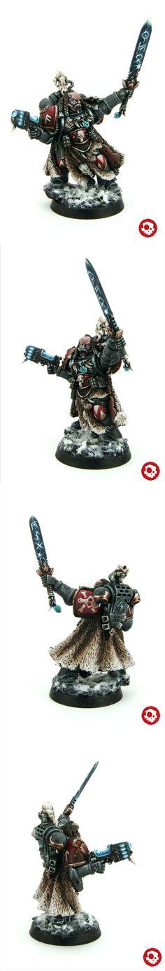 Space Wolf Rune Priest