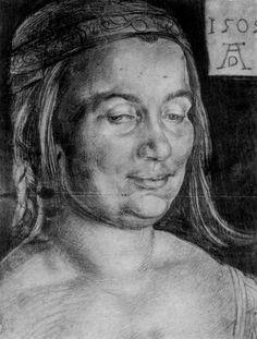 Portrait of a Man - Albrecht Durer - WikiArt.org