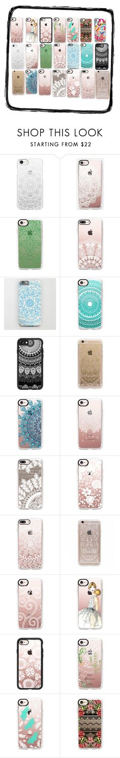 """📱 lace ❤️ #5😂"" by j-huss ❤ liked on Polyvore featuring Casetify and Rifle Paper Co"