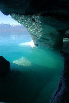 Turquoise - Lago General Carrera. Puerto Tranquilo, Aysén, Chile