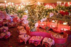 Dining room at Madonna Inn in San Luis Obispo, Ca. one of my favorite spots....many good memories.