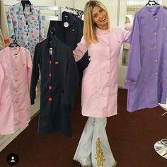 Qual modelo de jaleco escolher??