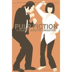 Pulp Fiction 12x18 inches movie poster. £12.00, via Etsy.