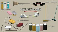 Housework Clutter (P) at Leo Sims • Sims 4 Updates