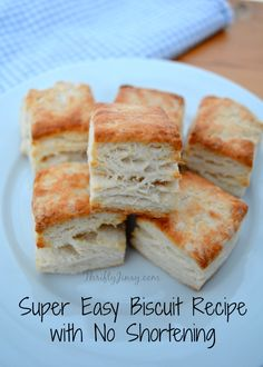 I'm staying at my sister's house for a couple of days and last night I REALLY wanted biscuits. I'm not a big biscuit maker and usually have used a box of Bisquick, but this recipe is VERY simple and uses only ingredients that most people would always have on hand. Most times when you look …