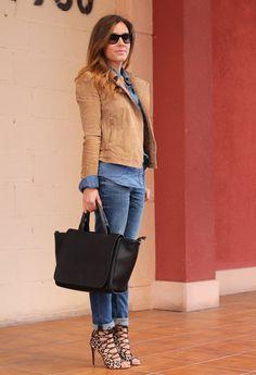 Lace-up Sandals Heels  , Mango en Chaquetas, Zara en Jeans, Zara en Tacones / Plataformas, Chanel en Gafas / Gafas de sol