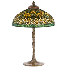 """""""Jonquil - Narcissus"""" Table Lamp by, Tiffany Studios   From a unique collection of antique and modern table lamps at https://www.1stdibs.com/furniture/lighting/table-lamps/"""