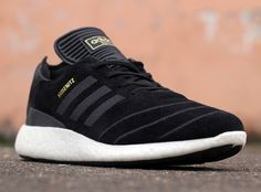 The popular Boost technology is slowly making its way across the entire adidas sneaker offering. First introduced through its running collection, the adidas Busenitz skate shoe is the latest one to receive a Pure Boost outer sole. The signature sneaker of pro skateboarder Dennis Busenitz, originally inspired by his favorite soccer cleat, the Copa Mundial, …
