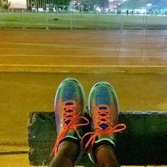 break in. #asics naman #thankyou sa sponsor #running