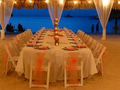 Your reception can look like this. Call us to book your perfect Aruba vacation. We are Certified Aruba Experts 516-608-0568