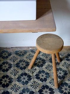 french cement tile