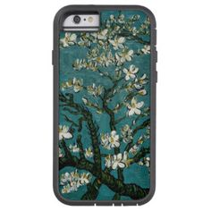 Branches of an Almond Tree in Blossom green Tough Xtreme iPhone 6 Case. See pictures Summer Iphone Cases, Iphone Case Covers, Branches, Almond, Flower Paintings, Landscape Pictures, Green, Flowers, Pretty