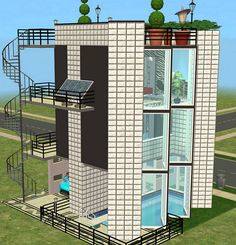 Mod The Sims - Living Large on a Tiny 1x1 Lot3