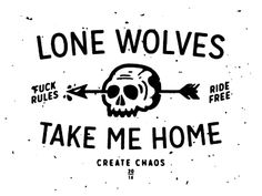Lone Wolves by Justin Pervorse