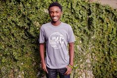 You can thank us later for the softest tee you will ever own. But more importantly, the purchase of this tee provides 68 lunches to a secondary student in Rwanda! Hey there, world changer.  Unisex sizes. Ladies, if you're looking for fitted, you may want to order one size down.