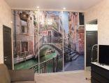 Шкаф купе с фотопечатью на память о Венеции