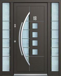 Flush Door Design, Window Glass Design, Door And Window Design, Wooden Main Door Design, Bedroom Door Design, Door Design Interior, Interior Modern, Modern Wooden Doors, Contemporary Front Doors