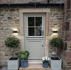 whole year ago. And now we want to move A whole year ago. And now we want to move -A whole year ago. Door Design, Exterior Design, House Design, French Cottage, Cottage Style, Style At Home, Cottage Front Doors, Cottage Doors Interior, Cottage Stairs