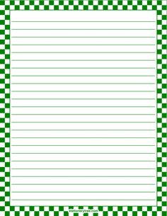 Printable yellow and white checkered stationery and writing paper. Printable Border, Printable Lined Paper, Lined Writing Paper, Free Printable Stationery, Notebook Paper, Stationery Paper, Note Paper, Journal Cards, Diy Paper