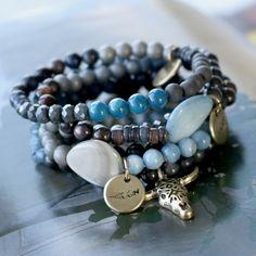 Wählen Sie einen auffallenden Winterlook mit unseren faszinierenden Farben Muschel Perlen in verschiedenen Formen!