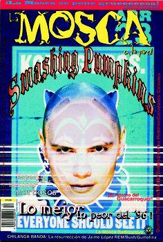 """El ejemplar 12 de La Mosca en la Pared, con Billie Corgan en portada. Era febrero de 1997 y por primera vez aparecía lo de lo mejor y lo peor, en este caso de 1996. Además, con este número nos poníamos """"gruesos"""", al aumentar el número de páginas (de 24 nos íbamos a 36)."""