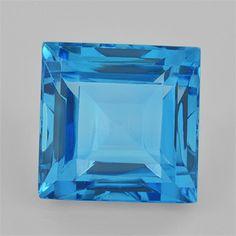 #buytopaz - @rasavgems  #shopnow 12.06 ct 12x12x8.3 mm AAA+ #Square Eye Clean #swiss #BlueTopaz