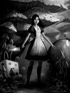 The Art of Alice: Madness Returns. (Game based on Alice in Wonderland.)
