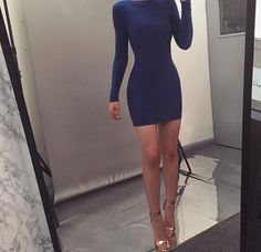 Party Dress Outfits, Night Outfits, Cool Outfits, Tight Dresses, Day Dresses, Cute Dresses, Dress And Heels, Homecoming Dresses, Marie