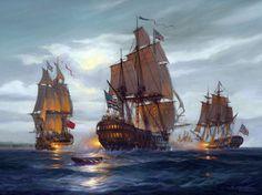Six Frigates: U.S. Naval History