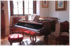 Dvorak's piano.