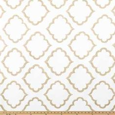 Get Cream & Tan Classique Home Decor Fabric online or find other Home Decor Fabric products from HobbyLobby.com