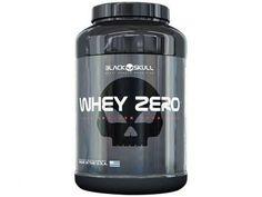 Whey Zero Morango 907g - Black Skull com as melhores condições você encontra no Magazine 233435antonio. Confira!