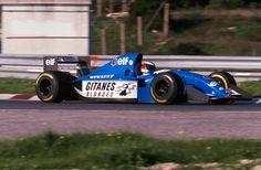 Michael Schumacher, Ligier-Renault, Estoril, 1994