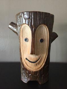 Tiki Log. Designed by Kahuna Kevin. Mug made by Eekum Bookum tiki mugs