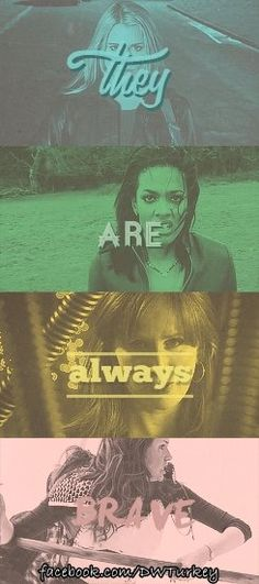 Doctor Who companions are always brave.