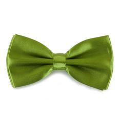Fliege Schleife Hochzeit Anzug Smoking - grassgrün in Feierlichkeiten / Anlässe   • Hochzeit • Krawatten / Fliegen • Fliegen