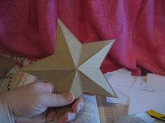 Make your own Betsy Ross type star
