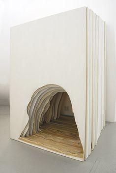 Daniel Subkoff Painting Cave, 2013 Canvas, Stretcher bars Dimensions variable