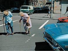 Helen Levitt. One of the best street photographers.