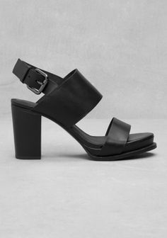 667b7ff538d5 other stories block heel open-toe sandals with wide straps