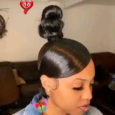 ᴾᴵᴺᵀᴱᴿᴱˢᵀ: ᵀᴴᴱᴺᴵᴺᴬᴳᴿᴸ 🦋<br> Hair Ponytail Styles, Long Ponytail Hairstyles, Slick Ponytail, Side Braid Ponytail, Baddie Hairstyles, Curly Hair Styles, Short Quick Weave Hairstyles, Red Weave Hairstyles, Curly Ponytail