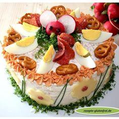 Pikante Landbrot - Torte - Tanja`s glutenfreies Kochbuch