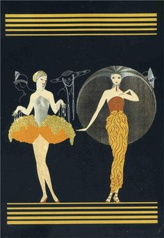 Morning Day by Erté