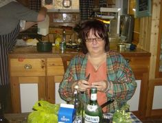 Taken in Perugia in 2009. I was invited to a very swanky supper party and the rather eccentric hostess asked ME to peel the sprouts! Being Italian she did not know what to do with them - so I made a delicious mix of sprouts, pancetta and chestnuts which went down a storm with the other guests