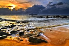 Kura-Kura Beach 2014 by Frumensius Dominggo on 500px Pantai Kura-Kura, Bengkayang, Kalimantan Barat, Indonesia