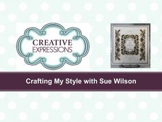 Crafting My Style - Using Striplets as Borders for Creative Expressions - YouTube